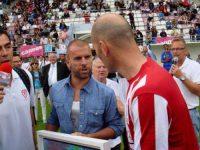 Grégory Berben - Zinedine Zidane - Zizou - Cannes - Stade Coubertin