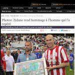 Grégory Berben - Zinedine Zidane - Zizou - Gala - Presse - 2013