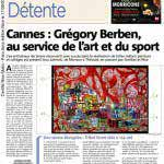Grégory Berben - Nice Matin - Presse