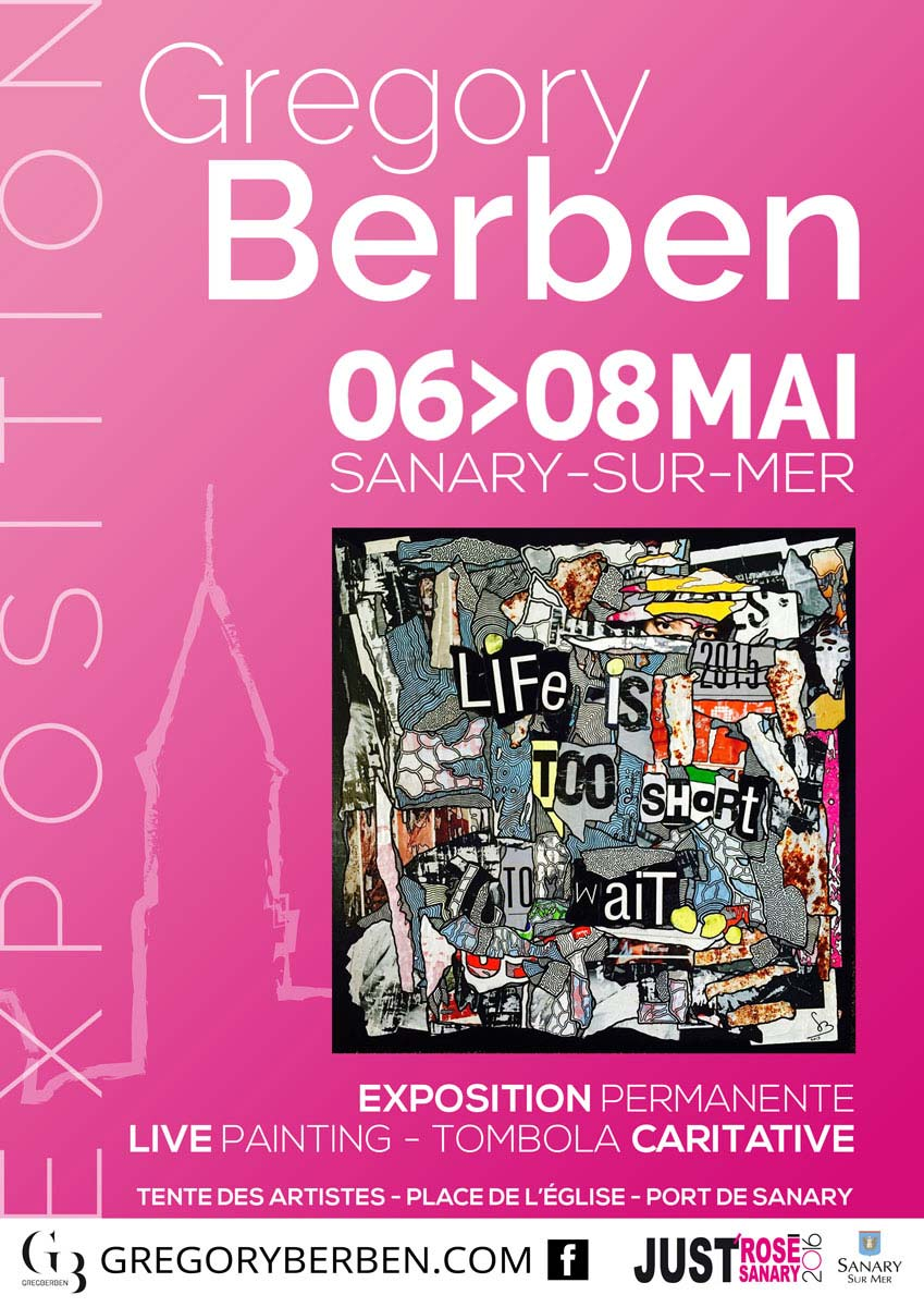 Exposition Sanary - Grégory BERBEN