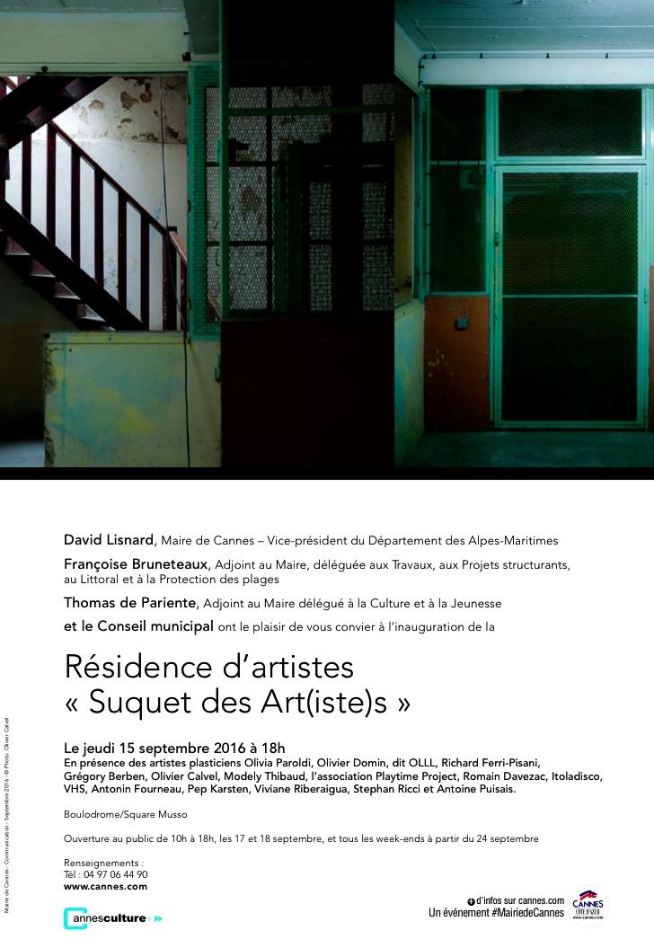 "Inauguration ""Suquet des Artistes"""