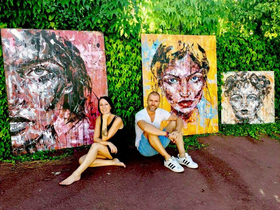 Duo Lucile Callegari Gregory Berben