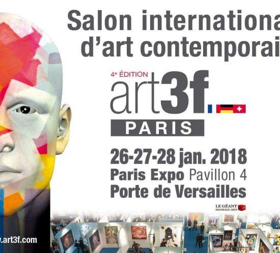 Expo Salon Art Contemporain Paris 2018 Gregory Berben
