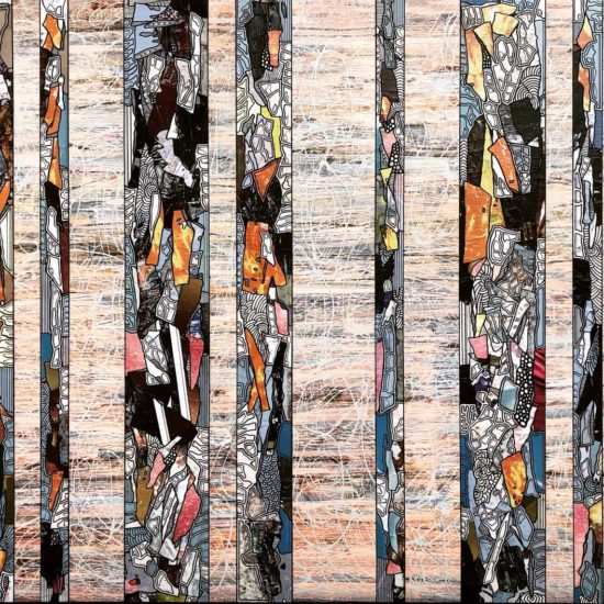 Tranches de Vie XII 195 x 130 cm Gregory BERBEN 2018