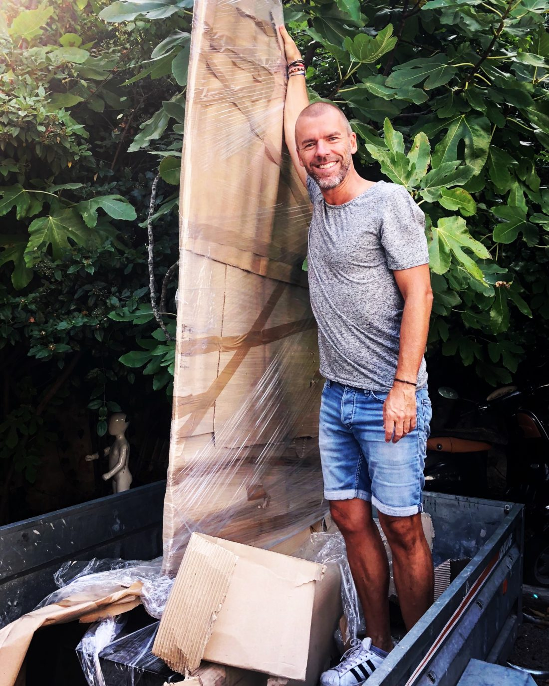Gregory BERBEN Sculpture Cannes Inauguration