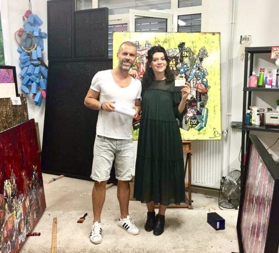 Gregory BERBEN signe avec la Galerie Martin Sauvage