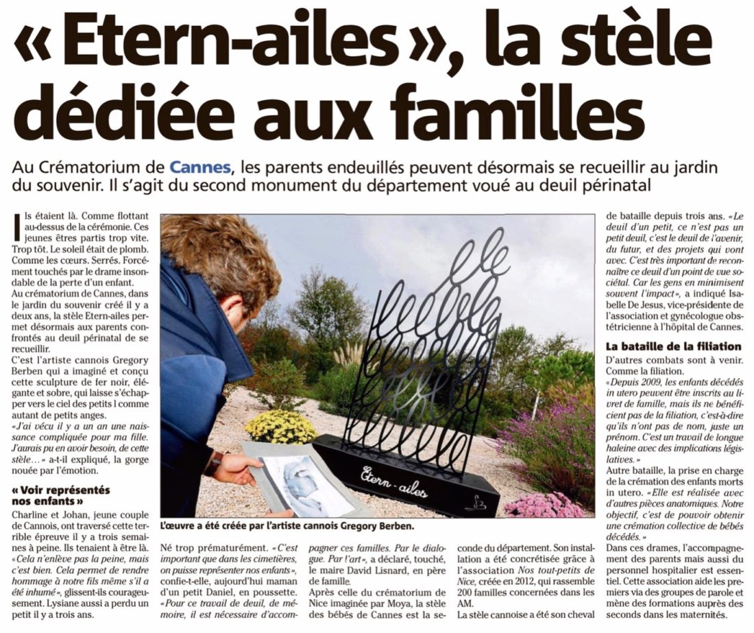 Etern Ailes - Sculpture Grégory BERBEN
