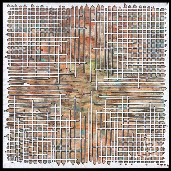 BRAINSTORMING #21 - 100 / 100 cm