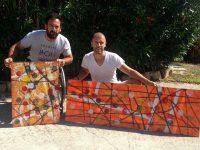 Michael Jeremiasz (Tennis JO) & Gregory Berben / Projet Art & Sport