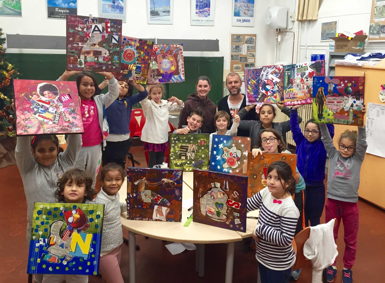 Grégory Berben - enfants - cannois - atelier