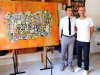 "David Lisnard (Mairie de Cannes) - Inauguration ""Suquet des Artistes"" - Juillet 2015 - Grégory Berben"