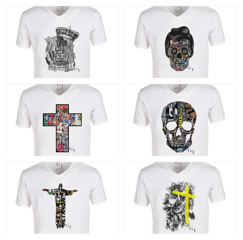 Collection T-shirts Grégory BERBEN