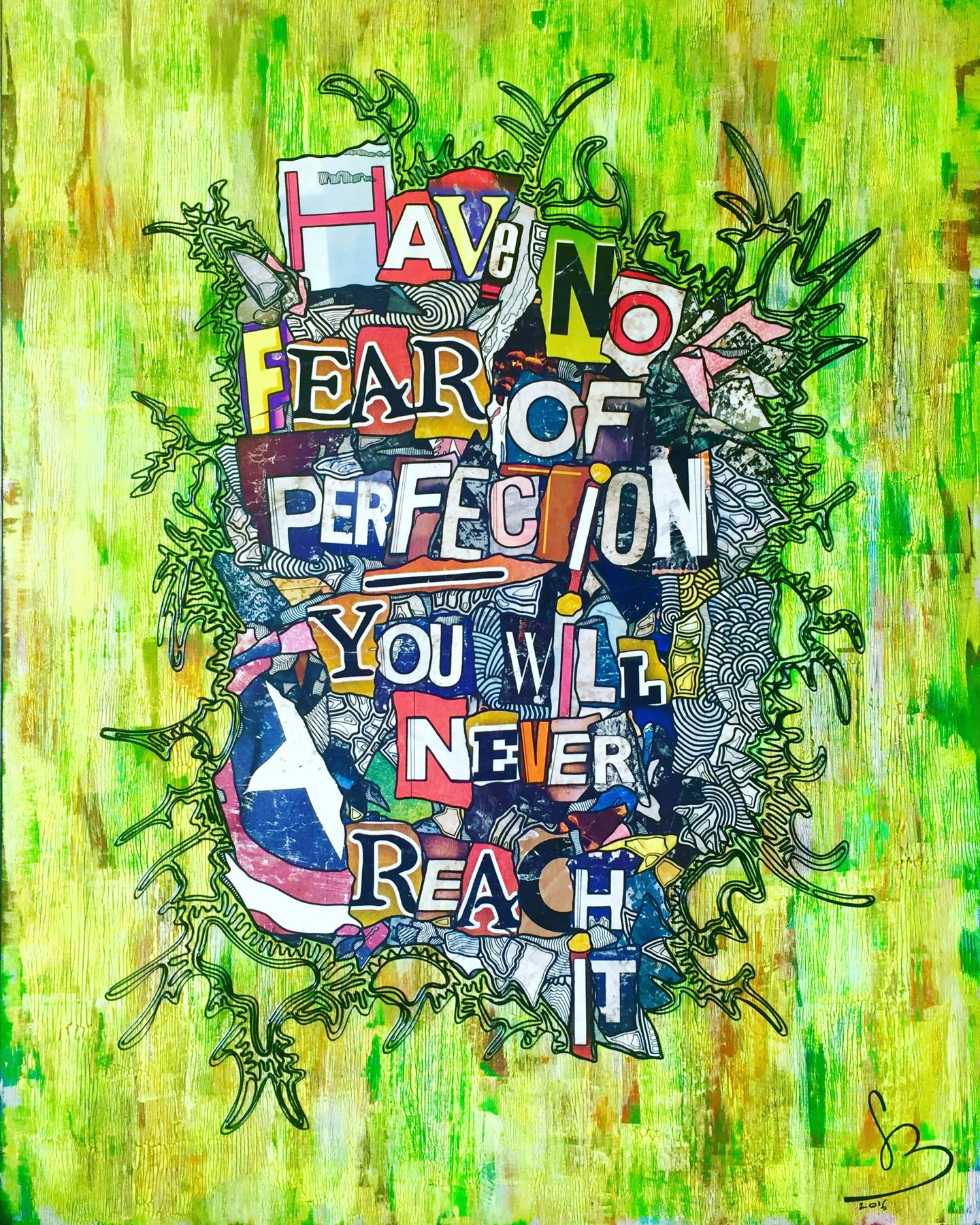 Have No Fear Of Perfection Grégory Berben Mai 2016