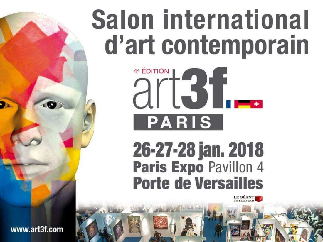 Expo Salon Art Contemporain Paris 2018 Gregory Berben