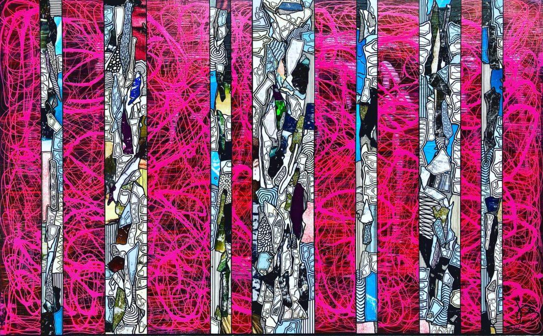 Tranches de Vie XI 130 x 81 cm Gregory BERBEN 2018