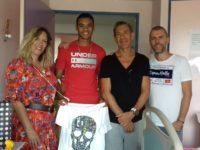 Grégory BERBEN François FELDMAN Sandrine ALEXY Visite Hôpital Archet Nice