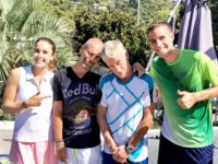 Alizé CORNET / Didier DESCHAMPS / Gregory BERBEN