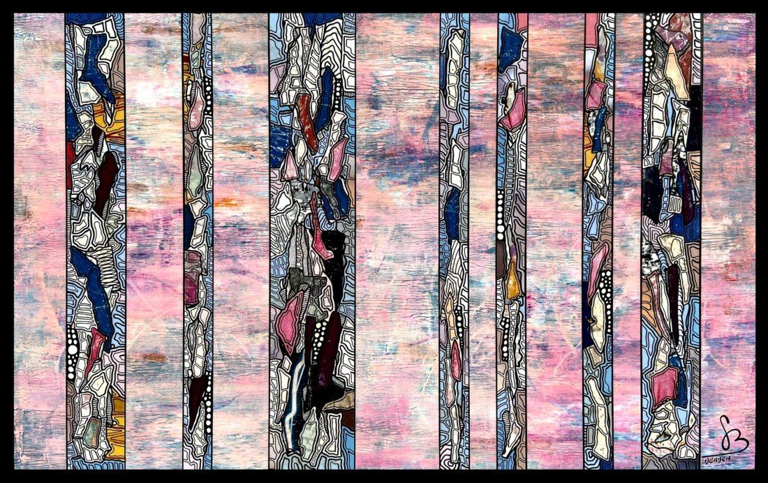 TRANCHES DE VIE #37 Marie - 130 x 81 cm - Gregory BERBEN - Mars 2020