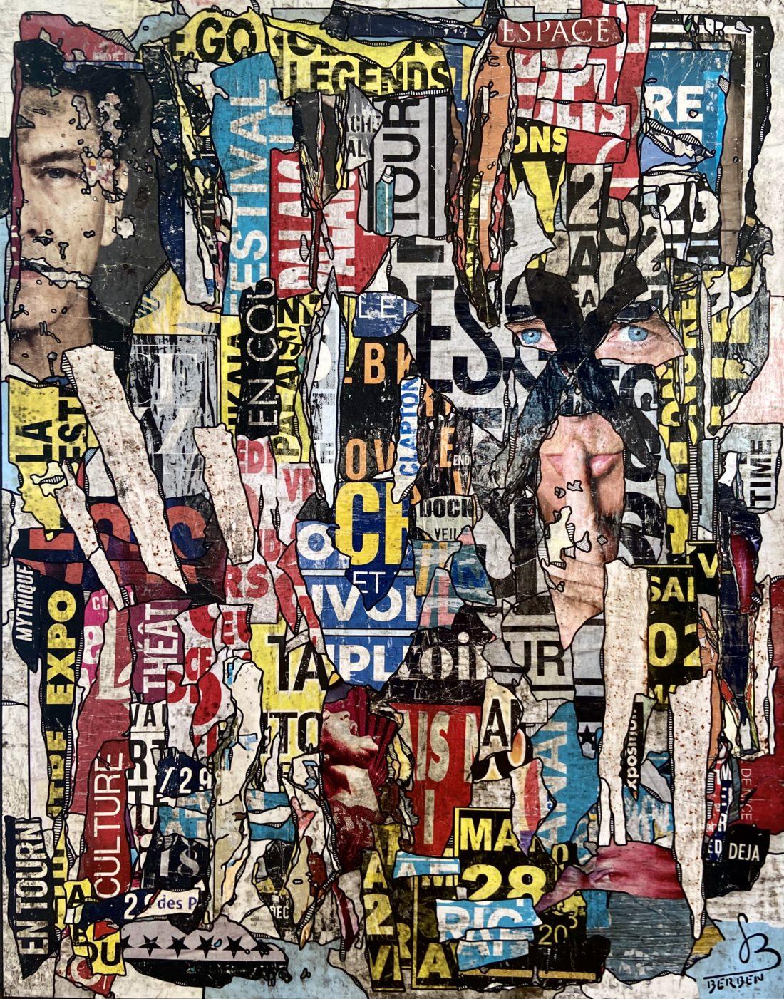 AFFICHAGE LIBRE #8 - 118 x 150 cm - Gregory BERBEN - Décembre 2020