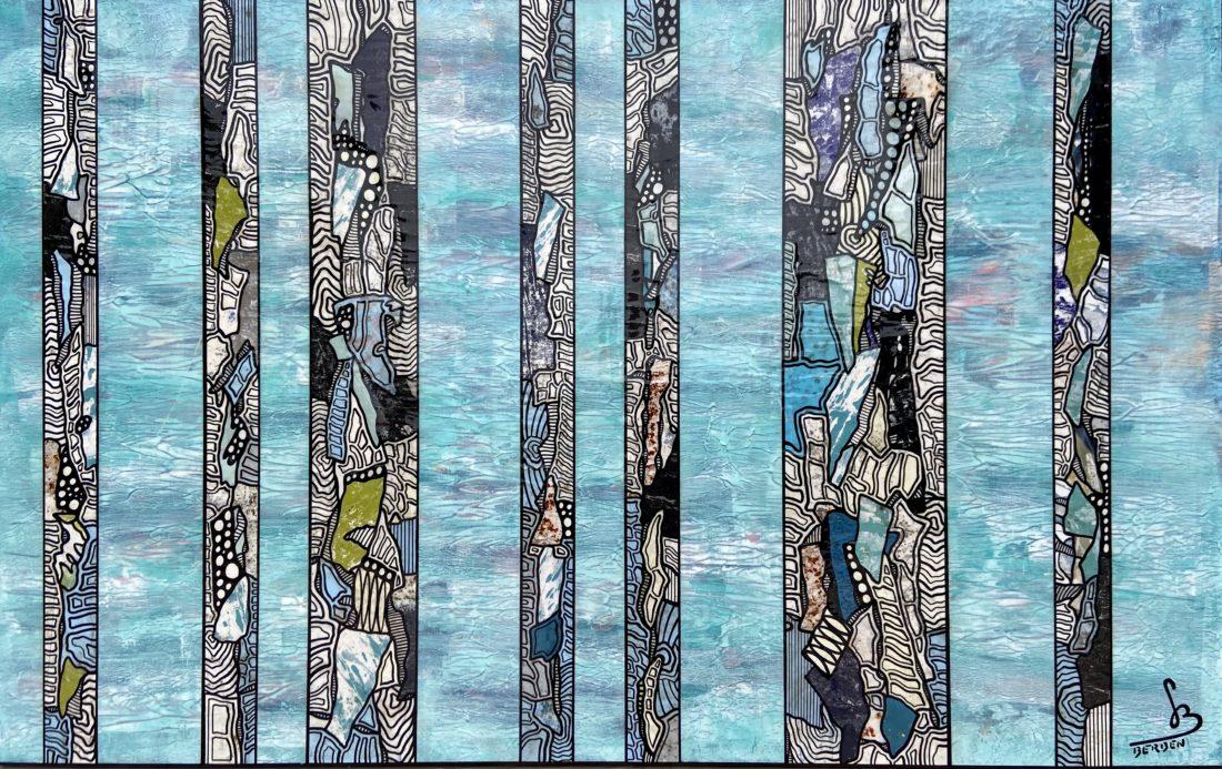 TRANCHES DE VIE #40 - 116 / 73 cm - Gregory BERBEN - Septembre 2020