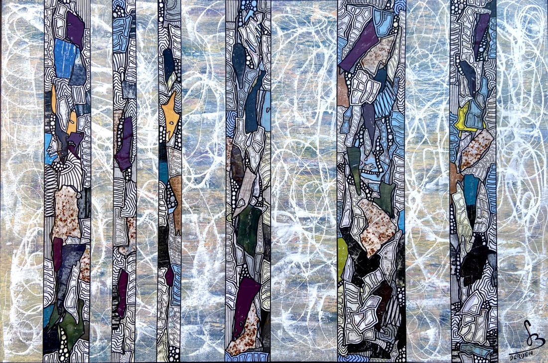 TRANCHES DE VIE #41 - 146 x 97 cm - Gregory BERBEN - Octobre 2020