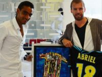 Fabrice ABRIEL (football OGC Nice/OM) / Gregory BERBEN