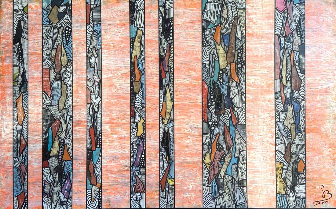 TRANCHES DE VIE #42 - 116 / 73 cm - Gregory BERBEN - Décembre 2020